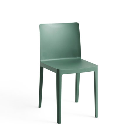 HAY Stoel Élémentaire Groen Kunststof 49,5x42x79,5cm