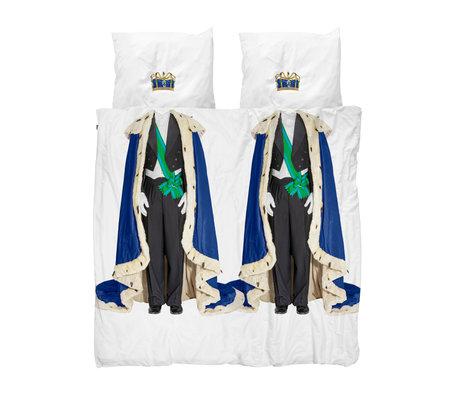 Snurk Beddengoed Dekbedovertrek Lits-jumeaux The Royals Kings Multicolor Katoen 240x200/220cm