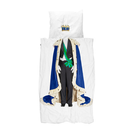 Snurk Beddengoed Dekbedovertrek 1-persoons King Multicolor Katoen 140x200/220cm