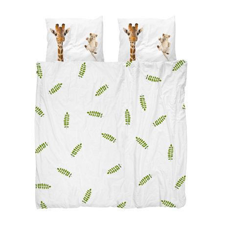 Snurk Beddengoed Dekbedovertrek Lits-jumeaux XL Wild Friends Multicolor Katoen 260x200/220cm