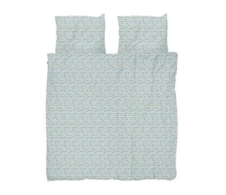 Snurk Beddengoed Dekbedovertrek Lits-jumeaux XL Daisy Dawn Multicolor Katoen 260x200/220cm