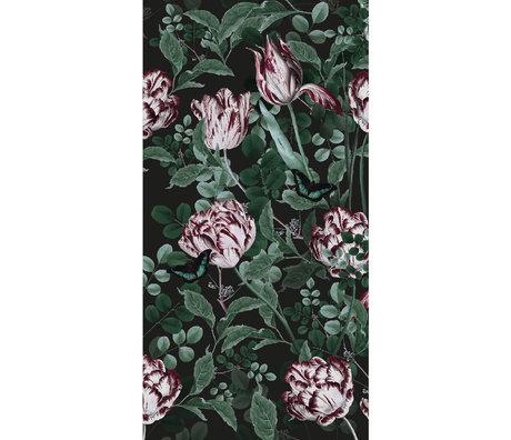 KEK Amsterdam Behang Bold Botanics Dark Multicolor  Vliesbehang 97,4x280cm (2 sheets)