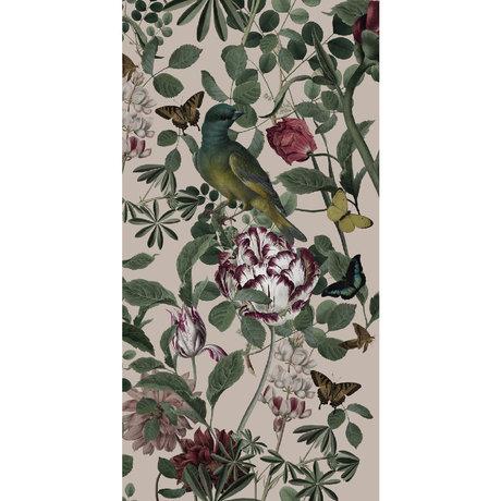 KEK Amsterdam Behang Bold Botanics Bird Multicolor Vliesbehang 97,4x280cm (2 sheets)