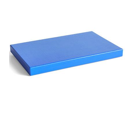 HAY Snijplank Rectangular Blauw Kunststof 40x25x2,5cm