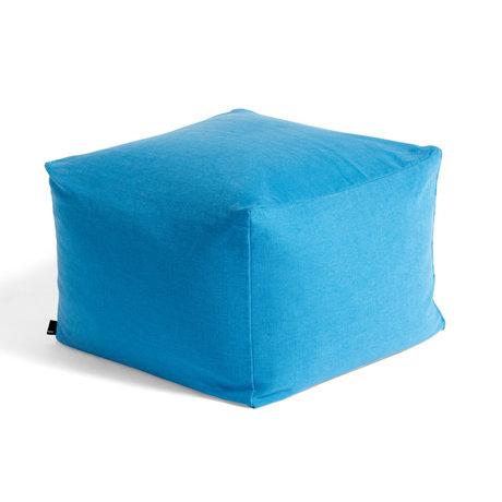 HAY Poef Vivid Blue Textiel 59x59x40cm