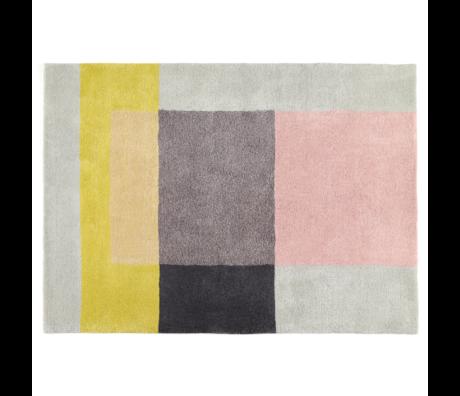 HAY Tapijt Colour No. 5 Multicolor Wol Katoen 240x170cm