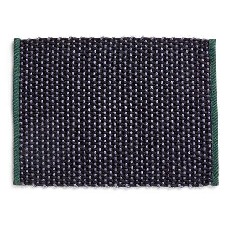 HAY Deurmat Dark Green Textiel 50x70cm