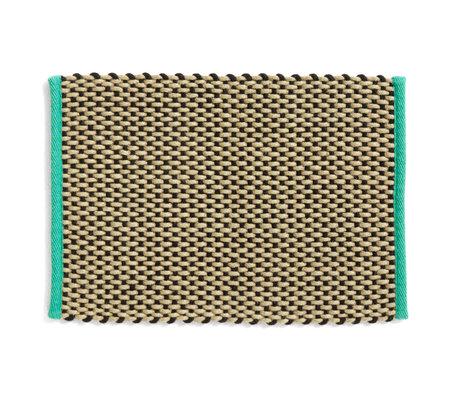 HAY Deurmat Sand Green Textiel 50x70cm