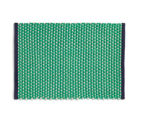 HAY Deurmat Light Green Textiel 50x70cm