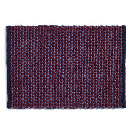 HAY Deurmat Burgundy Textiel 50x70cm