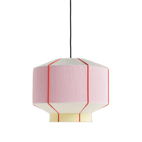 HAY Lampenkap Bonbon Roze Multicolor Wol Staal Ø38x32cm
