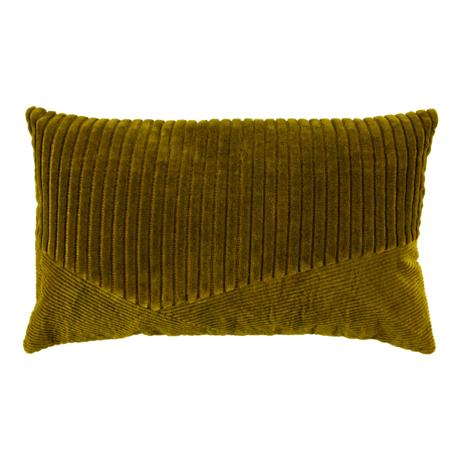 BePureHome Sierkussen Welts Groen Velvet 50x30cm