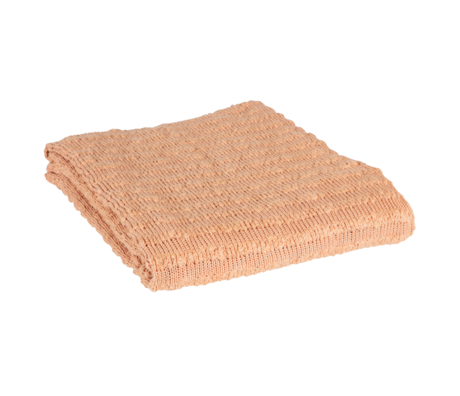 BePureHome Plaid Waving Roze Katoen 170x130cm