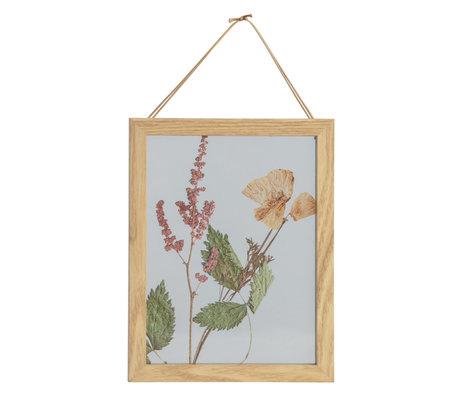BePureHome Fotolijst Potpourri Bloemen Multicolor MDF Glasplaat 18x23cm