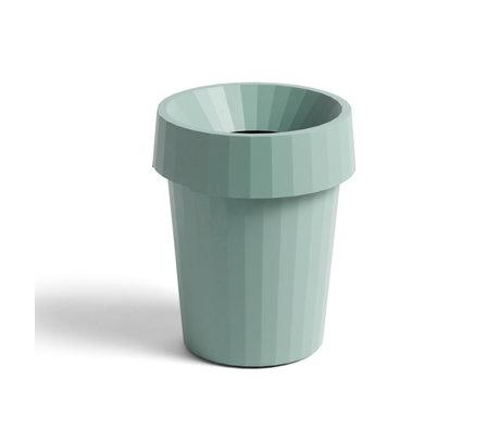 HAY Prullenbak Shade Bin 14L groen kunststof Ø30x36,5cm