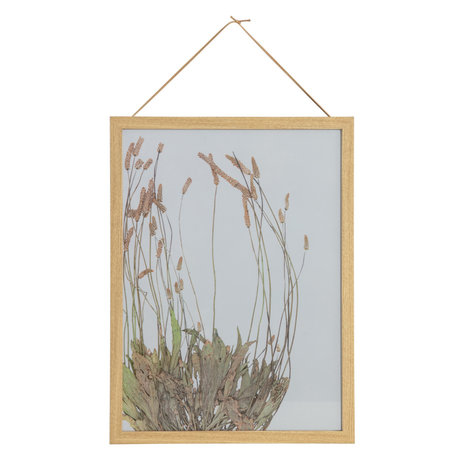BePureHome Fotolijst Potpourri Bloemen Multicolor MDF Glasplaat 30x40cm