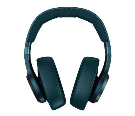 Fresh 'n Rebel  Wireless Over-ear headphones Clam ANC Petrol Blue Kunstof Textiel