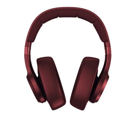 Fresh 'n Rebel  Wireless Over-ear headphones Clam ANC Ruby Red Kunstof Textiel