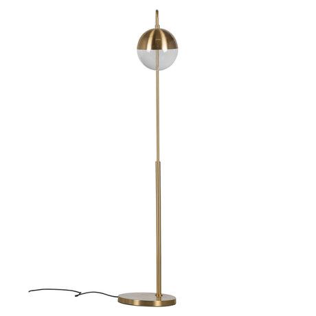 BePureHome Vloerlamp Globular Goud Metaal 31x30x143cm