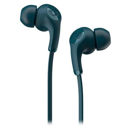 Fresh 'n Rebel  In-ear-headphones Flow Tip Petrol Blue Kunstof Textiel