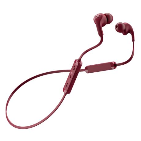 Fresh 'n Rebel  Wireless In-ear-headphones Flow Tip Ruby Red Kunstof Textiel
