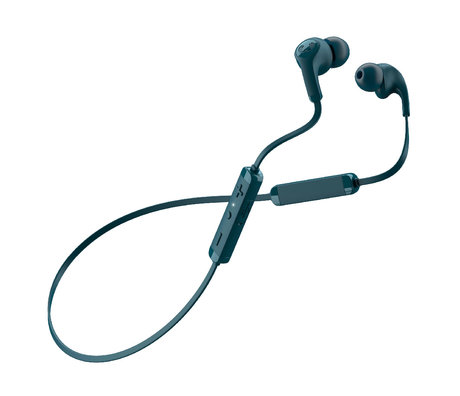 Fresh 'n Rebel  Wireless In-ear-headphones Flow Tip Petrol Blue Kunststof
