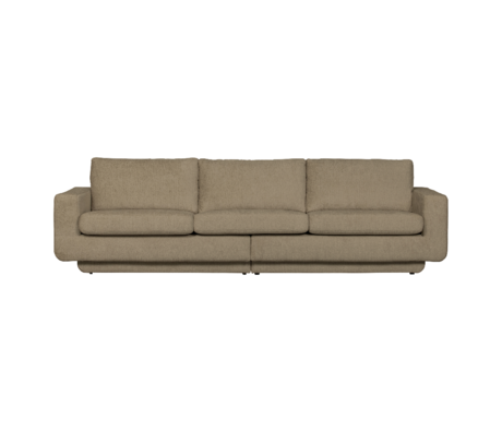 BePureHome Bank Fame 3-zits Beige Polyester 282x92x84cm