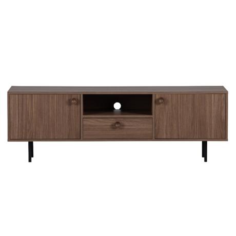 WOOOD TV-meubel Prato Naturel Walnoot Hout 145x40x48cm