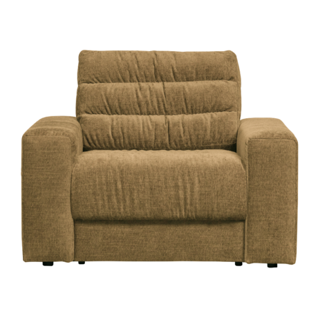 BePureHome Fauteuil Date Vintage Goud Polyester 103x99x78cm
