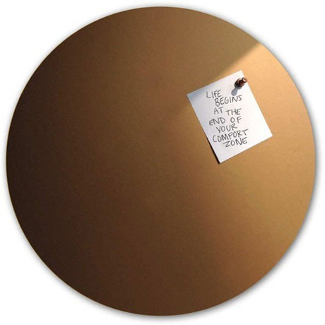Groovy Magnets Magneetsticker Koper Zelfklevend Vinyl Ø60cm
