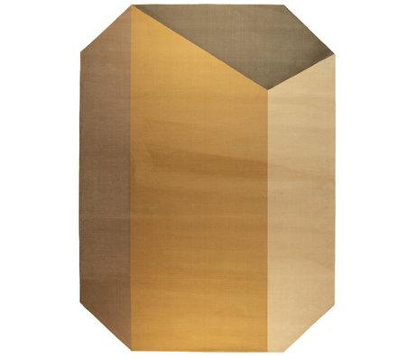 Zuiver Vloerkleed Harmony bruin decolaan jute 230x160cm