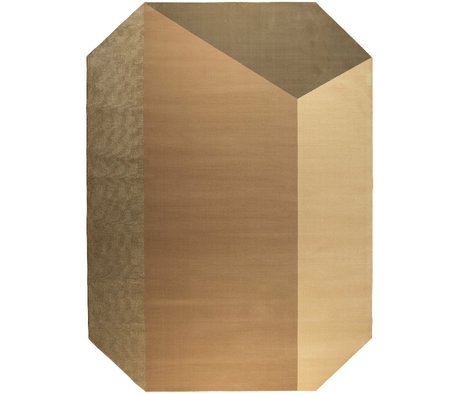 Zuiver Teppich Harmony braun Decolan Jute 230x160cm