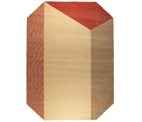Zuiver Teppich Harmony Pink Decolan Jute 230x160cm