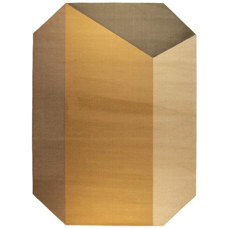 Zuiver Vloerkleed Harmony bruin decolaan jute 290x200cm