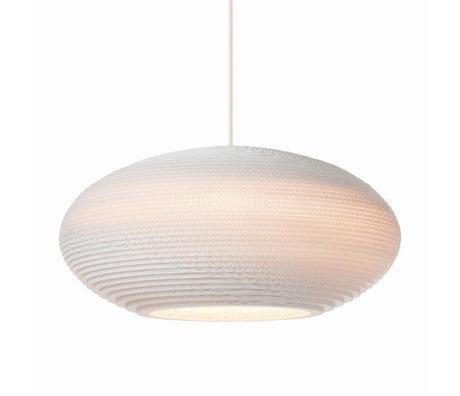 Graypants Hanglamp Disc 16 Pendant wit karton Ø43x19cm