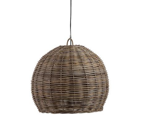 WOOOD Hanglamp Mooze Naturel Rotan Ø60x50cm