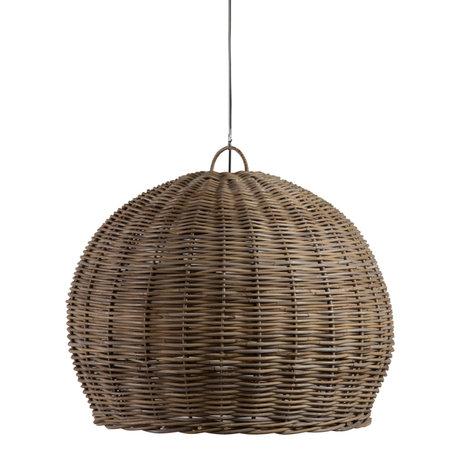 WOOOD Hanglamp Mooze Naturel Rotan Ø80x65cm