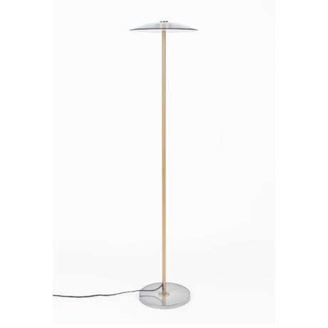 Zuiver Vloerlamp Float brons glas metaal Ø30x132cm