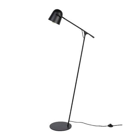 Zuiver Vloerlamp Lau zwart metaal 131x61cm