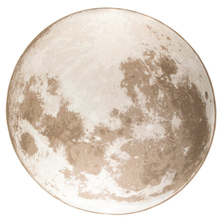 Zuiver Vloerkleed Outdoor Moon soft latte beige textiel Ø280cm