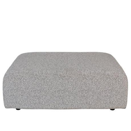 Zuiver Hocker Outdoor Breeze grijs textiel 90x118x43cm