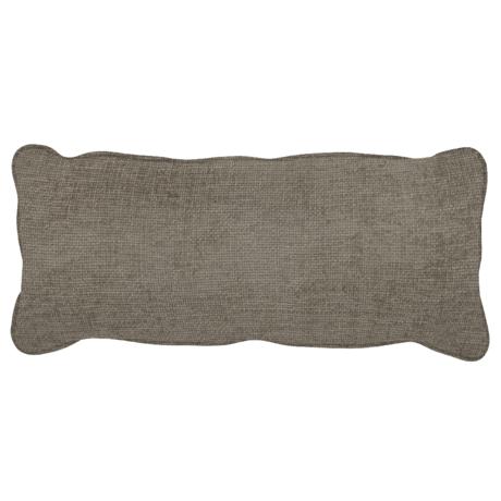 WOOOD Kussen Bean Melange Grijs Polyester 20x70x30cm