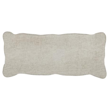 WOOOD Kussen Bean Melange Licht Grijs Polyester 20x70x30cm