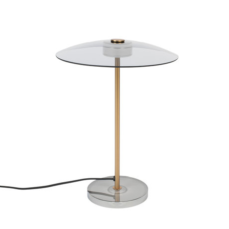 Zuiver Tafellamp Float brons glas metaal Ø30x42cm