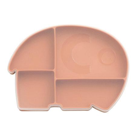Sebra Bord met Deksel Fanto Oranje Siliconen 25x18,5x3cm