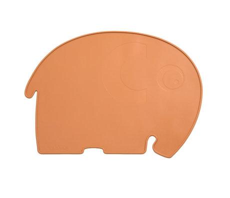 Sebra Placemat Fanto Oranje Siliconen 45x33x0,4cm