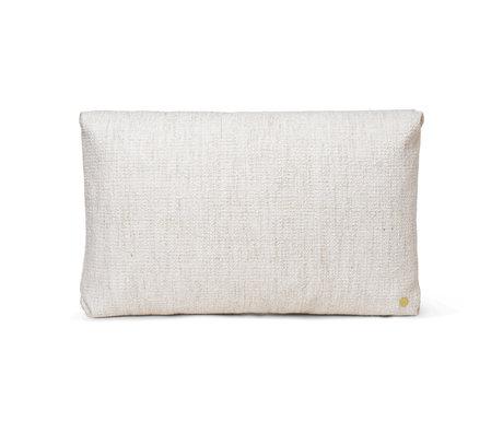Ferm Living Sierkussen Clean Creme Textiel 60x40cm