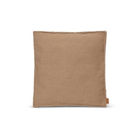 Ferm Living Sierkussen Desert Beige PET Garen Polyester 38x38x4cm