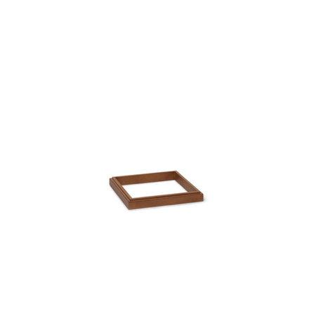 Ferm Living Standaard Miru Donker Bruin Eikenhout 37,8x37,8x4,5cm