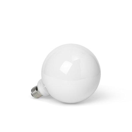 Ferm Living LED Lamp Opal Wit Opaal Glas Ø9,5x13,5cm